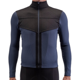 Isadore Long Sleeve Shield Jersey Men, indigo blue/black